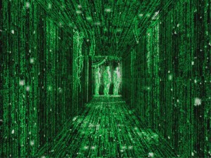 Scene from the movie The Matrix